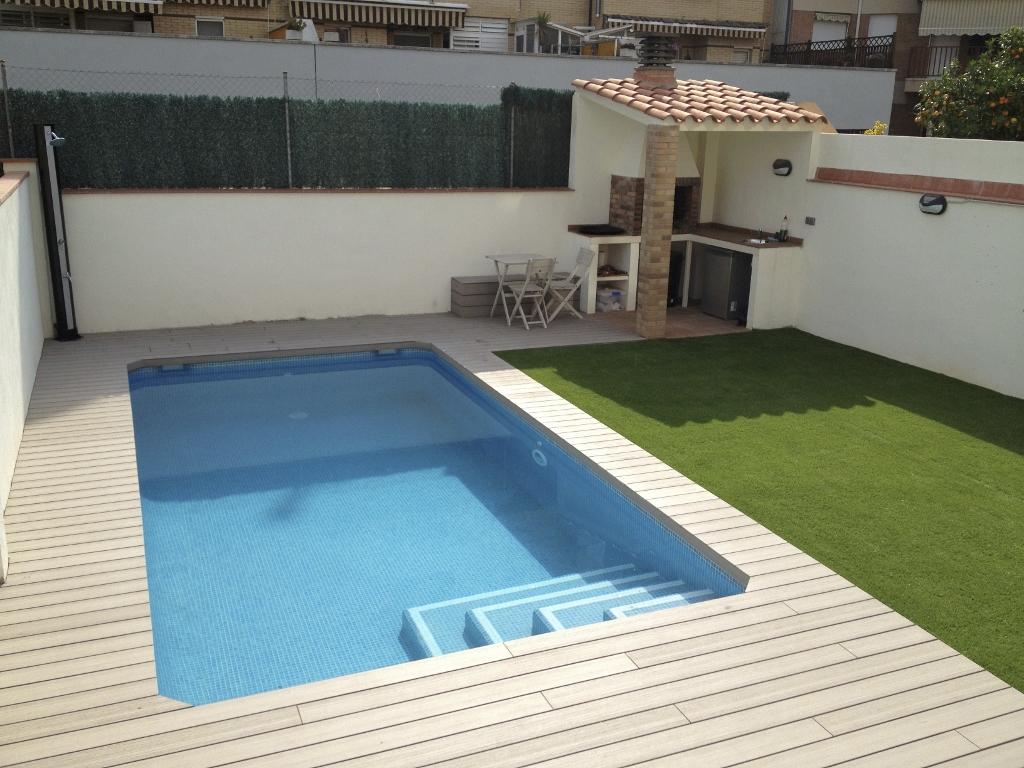 Proyecto realizado de construcci n de piscina en ripollet for Medidas de piscinas de obra